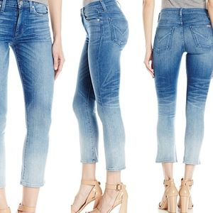 Hudson High Rise Crop Harper Jeans
